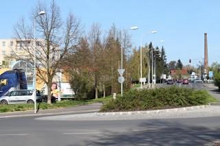Veřejné osvětlení - okružní křižovatka Plzeň Sokolovská